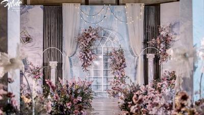 闯入莫奈的花园,将婚礼打造成一场油画梦境