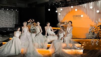 一场橙意十足的婚礼潮流大秀