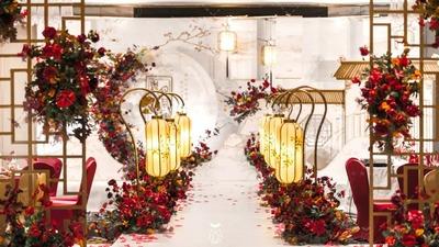 既清新淡雅又宁静雅致的新中式婚礼