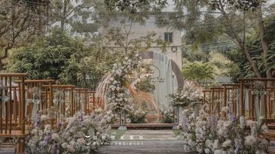 独具温馨质感清新又自在的民宿婚礼