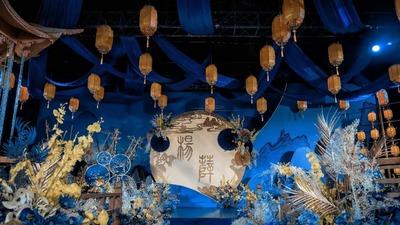 温婉又神秘宛如苏州园林般的江南风新中式婚礼