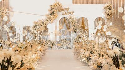 素雅柔美的韩式婚礼