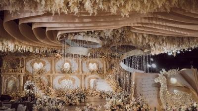 高级复古宫廷风婚礼