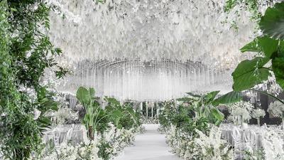 高级感韩式婚礼