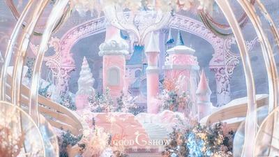 充满浪漫梦幻与纯真的迪士尼城堡主题婚礼