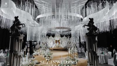 满载着圣洁与美好祝福,一场有着基督教含义的欧式婚礼