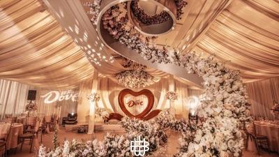 既时尚高级又甜蜜愉悦的德芙巧克力主题婚礼