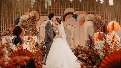 简约典雅的日系婚礼
