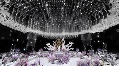 法式水晶花园婚礼