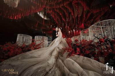 高级感满满的红色奢华婚礼