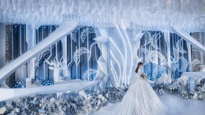 《冰雪奇缘》主题婚礼