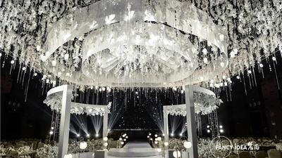 一场温柔而纯洁的白金色系简约高级风婚礼