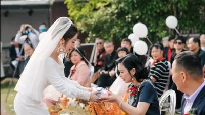 婚礼当天,为父母做一件事吧!