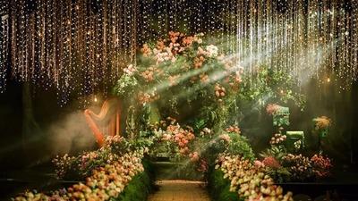 清新自然且有着真实美感的森系婚礼