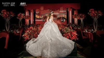 时尚风红色系婚礼