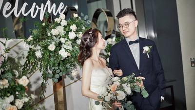 恬静优雅却又高级纯粹的极简风婚礼