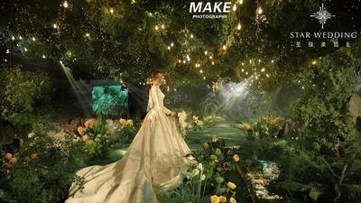沉静悠然中不乏清新优雅的沉浸式森系主题婚礼