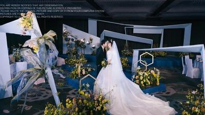 一场轻松愉悦又浪漫的简约现代风婚礼