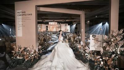 将浪漫展现到极致的珊瑚粉色系简约风婚礼