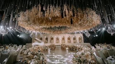 大气唯美的香槟色系婚礼