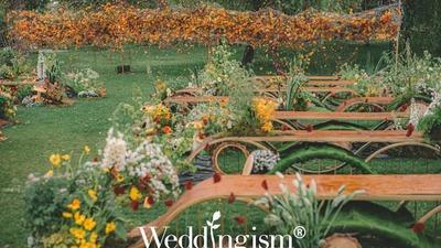 浸透着质朴自然气息又充满了童趣的户外婚礼