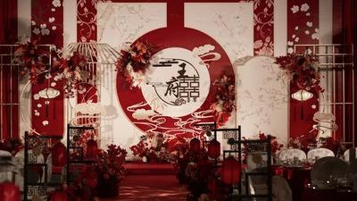庄重优雅的中式婚礼