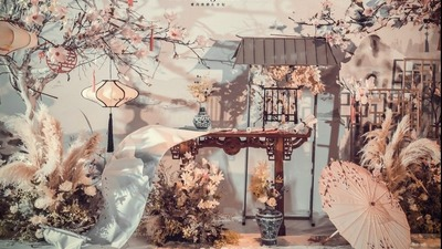 既古朴典雅又简约大气的新中式婚礼