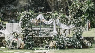 简约森系户外婚礼