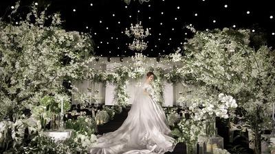 自然清新的韩式婚礼