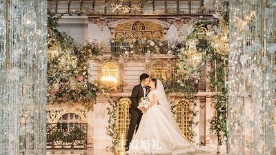 新古典主义基调的法式轻洛可可风格婚礼