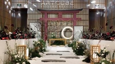 将日式风格和禅意结合在一起的侘寂美学婚礼