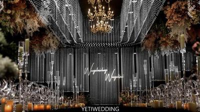 高级质感的韩式水晶婚礼