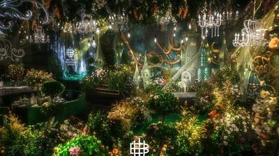 森系童话主题婚礼