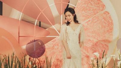 以西柚为设计元素的元气感水果主题婚礼