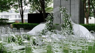 简约时尚风户外婚礼