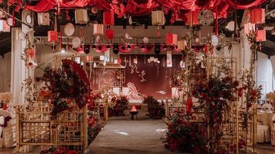 既依托于传统又与现代气息相结合的新中式婚礼