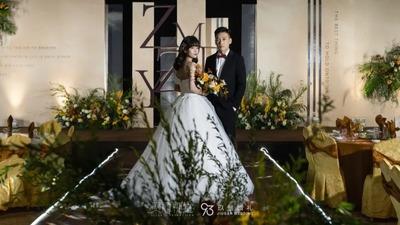 营造出不凡视觉美感温馨又简约的驼色系婚礼