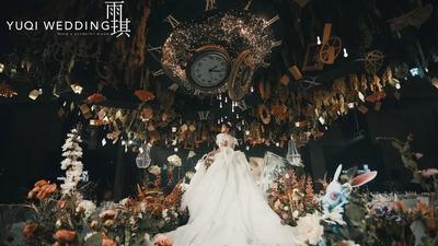 光怪陆离的爱丽丝梦游仙境主题童话婚礼