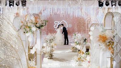 柔情香槟色系婚礼