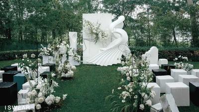 时尚设计感的户外婚礼