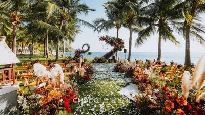 美式乡村复古风婚礼