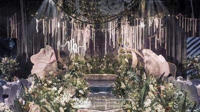 绿色系森林主题婚礼