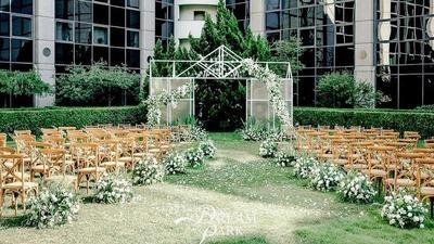 静谧且纯粹的户外婚礼