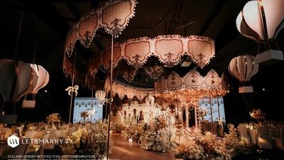 梦幻唯美且充满着少女浪漫情怀的童话主题婚礼