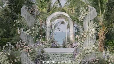 温柔又高级的灰紫色系婚礼