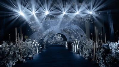梦幻星空主题婚礼