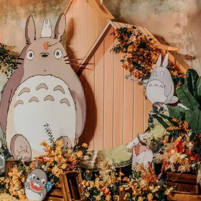 龙猫主题童话婚礼