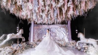 法式风情的童话主题婚礼