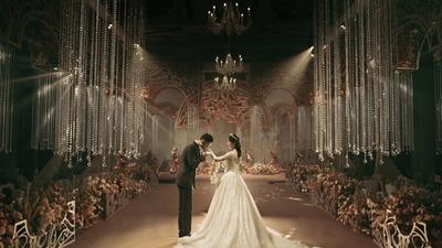 典雅奢华的欧式复古风婚礼