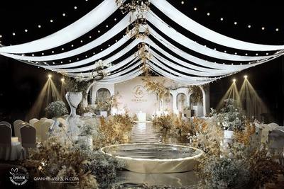 简单纯粹的韩式婚礼